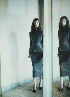 Audrey Marnay by Paolo Roversi for Vogue Italia October 1998