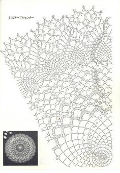 Crochet mandala free pattern diagram lace doilies 68 ideas for 2019 Crochet Doily Diagram, Crochet Doily Patterns, Crochet Chart, Thread Crochet, Filet Crochet, Crochet Motif, Irish Crochet, Crochet Vintage, Crochet Dollies