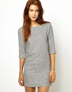striped resort dress #ASOS