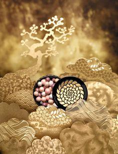 Guerlain `Liu` Christmas 2013 - Meteorites perles du dragon