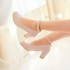 Shoes Galore Ankle Strap Pumps   YESSTYLE