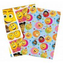 Emoji Geschenkpapier