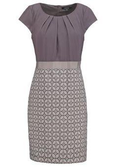 Korte jurk - grey/black