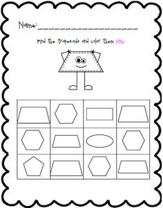 free cut and paste shape worksheets includes a shape booklet as well shape activities. Black Bedroom Furniture Sets. Home Design Ideas