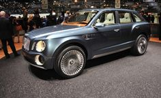 Bentley Still Wants an SUV, But the EXP 9 Aint It