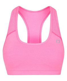 Look what I found on #zulily! Hyper Pink Marl Arena Sports Bra #zulilyfinds