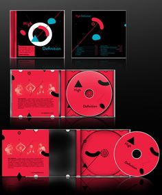 High Definition CD cover