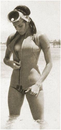 James Bond girl Claudia Auger as Dominio from Thunderball