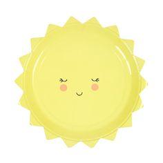 Sun Shape Plate