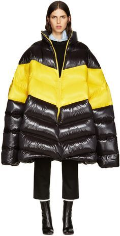 Image result for oversized puffer jacket front cut out