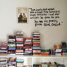 Kadang seseorang itu hanya perlu jatuh hati atau patah hati untuk mampu menuliskan sesuatu yang indah, sebenarnya. #thought