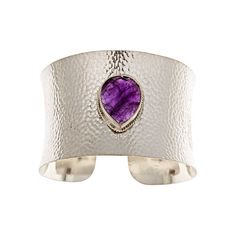Anuja Tolia Amethyst Broad Cuff Anuja Tolia (235 CAD) found on Polyvore