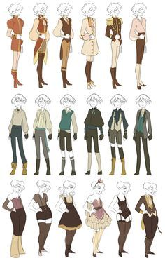character clothes - Google Search