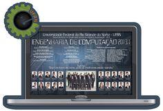 Placa de formatura Engenharia de Computação UFRN 2013.1