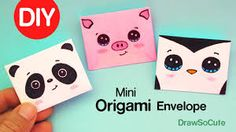 How to Make a Mini Origami Envelope Super Easy Diy Origami, Origami Envelope Easy, Cute Origami, Useful Origami, Origami Tutorial, Origami Heart, Paper Folding Crafts, Origami Paper Folding, Easy Paper Crafts