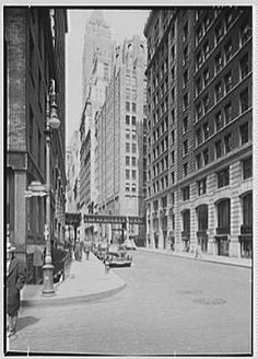 Seamen's Bank for Savings, 74 Wall St., New York City. Exterior from Water St.