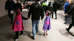 This photo of a father with his two darling TinySuperheroes warms our hearts, thank you for sharing this moment with us!   https://tinysuperheroes.com