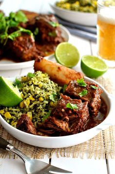 Fiery Fall Apart Mexican Beef Ribs - Made with Chipotles in Adobo Sauce. Fast to prepare,  with a great depth of flavor.