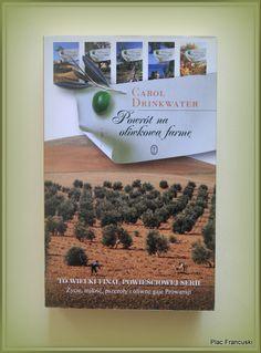 """Książka dla Ciebie i na prezent - """"Powrót na oliwkową farmę"""" w księgarni PLAC FRANCUSKI. Pełna liryzmu i humoru. Ta książka stanowi ważny głos w dyskusji o współczesnych problemach mających wpływ na każdego z nas."""