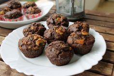 Retete Culinare - Muffins cu bucati de ciocolata