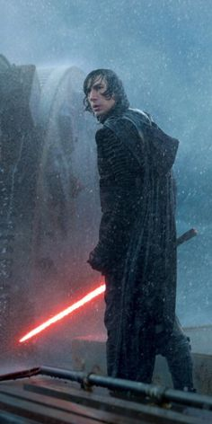 Alcida-Auka - This Kylo Ren in the rain photo is everything to...