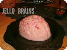 Jello Brains - Perfect for a Halloween party!