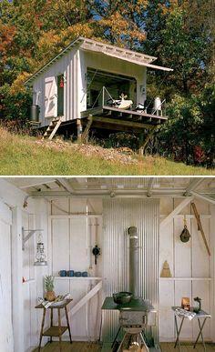 Gartenhaus für Gäste von Architekt Jeffery S. Broadhurst.