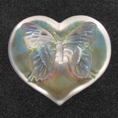 Butterfly paperweight by Robert Held