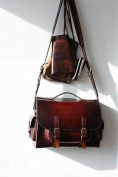 Leather Bag Handmade Romania