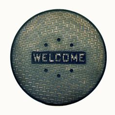 Industrial Welcome Doormat Man Gift by ContemporaryEarthArt, $25.00