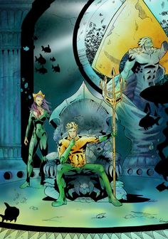 Throne Of Atlantis Color by magP on DeviantArt