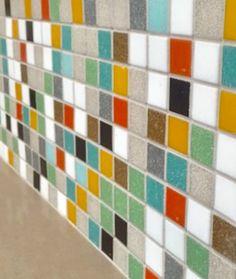 Brio Highlands blend glass mosaic tile by Modwalls.com.  Fresh Tile in Colors You Crave since 2005.