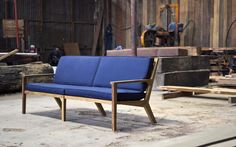 Thurman Sofa / Aaron Poritz Furniture / responsibly sourced hardwood furniture, made in Nicaragua by a CCA grad http://www.aaronporitz.com
