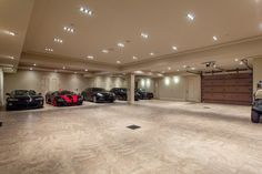 Floor tiles are an important component in building a garage. Having numerous choices of floor tiles garage available in every shape, size, and color, it Building A Garage, Car Garage, Building Plans, Garage Interior, Modern Mansion, Luxury Homes Dream Houses, Garage Design, Dream Home Design, My New Room