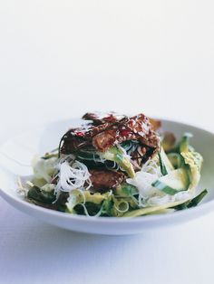 Lime Beef & Noodle Salad via Donna Hay #recipe