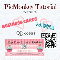 Making your own business cards is pretty simple. This post will show you how to make your own business cards using PicMonkey.
