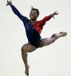 To date, Simone is the most decorated American female gymnast in World Championships history, and it looks like support…