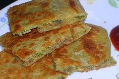 Bengali Recipe: Mughlai Paratha