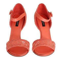 Dolce & Gabbana Gorgeous, brand new with tags Authentic Dolce & Gabbana peach Taormina lace Mary Janes shoes. This items comes from the exclusive M Lace Heels, Mary Jane Heels, Mary Janes, Peach, Brand New, Sandals, Luxury, Collection, Shoes