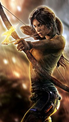 Tomb Raider - Unofficial Poster by TombRaider-Survivor on DeviantArt Lara Croft: Tomb Raider, Tomb Raider 2013, Tomb Raider Game, Dark Fantasy Art, Fantasy Girl, Lara Croft Tomb, Lara Croft 2013, Lara Croft Wallpaper, Raiders Tattoos