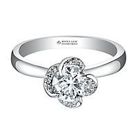 Maple Leaf Diamonds™ 1/2 ct. tw. Diamond Solitaire Engagement Ring in 18K Gold