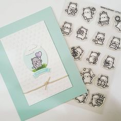 Couldn't resist getting these adorable little cats to stamp in my planner after I saw use them. Mama Elephant Stamps, Bday Cards, Animal Cards, Card Making Inspiration, Lawn Fawn, Card Sketches, Kids Cards, Cool Cards, Greeting Cards Handmade