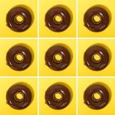 Baked Pumpkin Doughnuts with Bittersweet Chocolate Ganache   Jojotastic