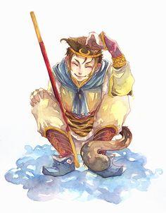 Monkey King by Luriel