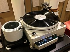 TechDAS Air Force III turntable equipped with a Graham Engineering Phantom III Elite tonearm...