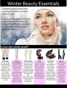 Winter Beauty Essentials!! call or text 905 872 6004 www.facebook.com/SoniaB.MaryKay