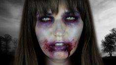 maquillage halloween zombie