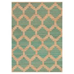 Add a pop of style to your decor with this eye-catching rug, perfect for your living room, home office, or master suite.   Construction Material: Hemp. Color: Blue. Features:  Natural fiber constructionTexturedEco-friendly