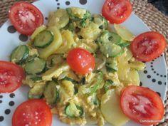 Zarangollo de Batatas e Courgete
