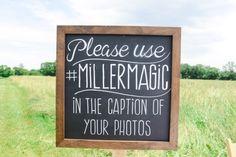 Social Media Wedding Sign